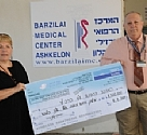 Christians for Israel donated 1,500,000 IS purchase emergency equipment to Barzilai Medical Center
